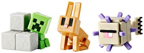 Elder Guardian, Sneaky Creeper & Rabbit Mini Figure (3 Pack)