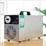 LOISK Generador De Ozono De 10 g/h 220 v para Uso Doméstico con Temporizador Portátil Purificador De Aire De Ozono para La Esterilización De Formaldehído En El Hogar, Humo De Automóviles y Mascotas