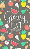 Grocery List Notebook: Food Budget Tracker