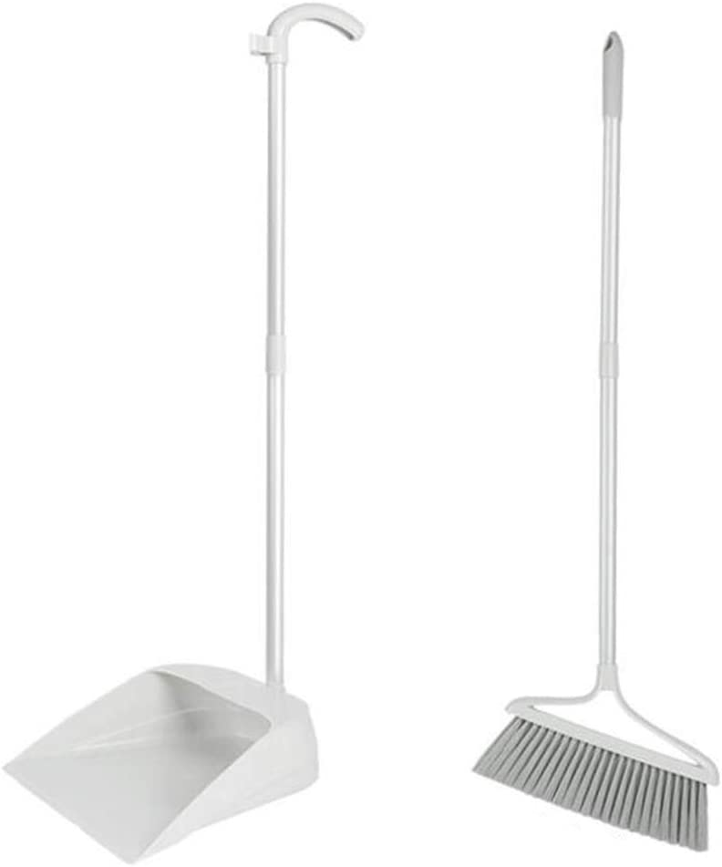 NLIAN- Broom and Dustpan Set 45 Bombing new work ° Lowest price challenge Height with Adjustable