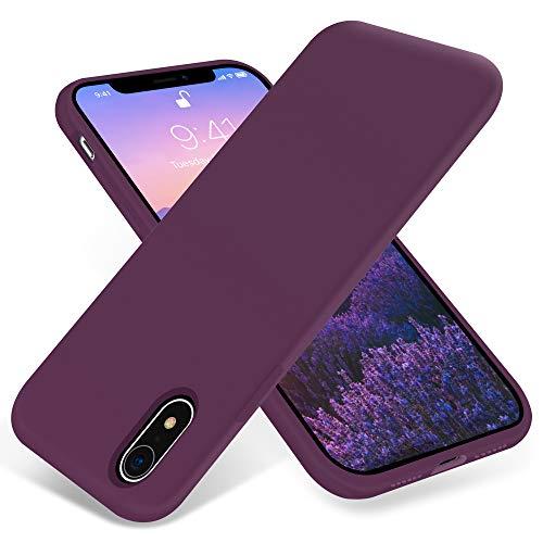 JELE - Funda de silicona para iPhone XR, a prueba de golpes, compatible con iPhone XR, funda protectora de cuerpo completo, delgada,...