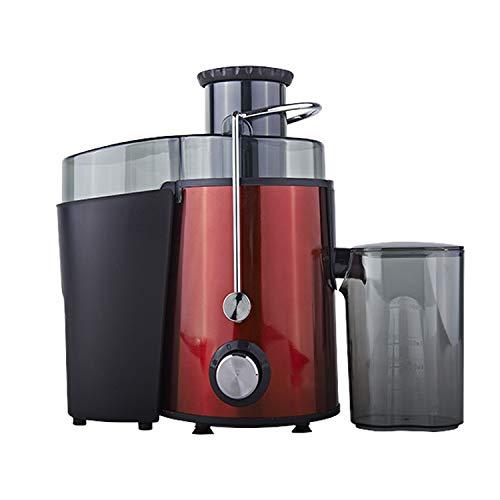 Licuadora para Verduras y Frutas Acero Inoxidable Batidora Licuadoras Multifuncional Exprimidor y Extractor de Zumos, Jarra de 0.6 l, Libre de BPA, 500W