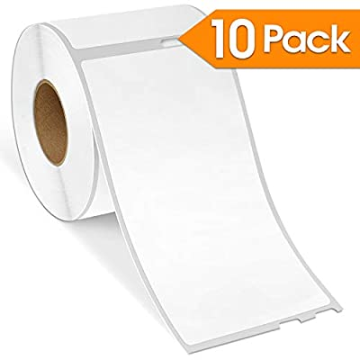 """Spartan Industrial - DYMO-Compatible 30323 Postage Shipping Labels 2-1/8"""" X 4"""" Replacement for DYMO 30323 Labels (10 Pack)"""
