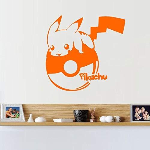 Decorazione Parete Adesivo Pokemon Monster Pikachu Adesivi Murali Decorazione Per La Casa Decorazione Scuola Materna Per Bambini Camera Da Letto Decorazione Per Pareti 30X32Cm Adesivi Murali Bambini