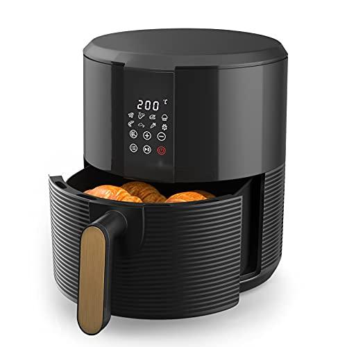 Friggitrice ad Aria 3 Litri - XL Friggitrice ad Aria Senza Olio con 8 Programmi, Touch Screen a LED Digitale, Airfryer 1300W Timer e Temperatura Impostabile [Classe di efficienza energetica A+++]