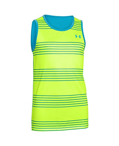 Under Armour Under Armour Kids Boy's UA Heenalu Surf Tank (Big Kids) Fuel Green Shirt