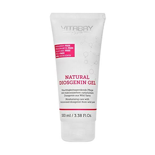 Natural Diosgenin Gel extra fuerte 100 ml - 64% de Diosgenina - 80% de extracto de raíz de Yam