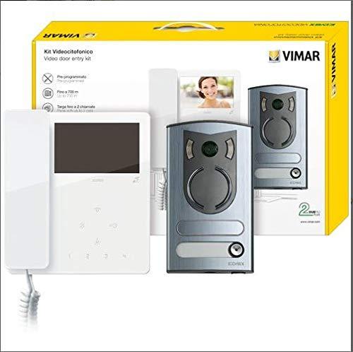 Kit Videocitofonico m/bif.4,3in Tab+13F2