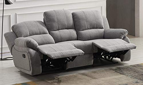 Mikrofaser Relaxsofa Schla-Couch Relaxsessel Fernsehsofa 5129-3-GM