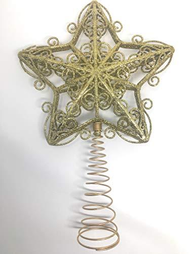 You Love a Bargain Decoración para árbol de Navidad, diseño de Estrella con Texto en inglés, Color Dorado