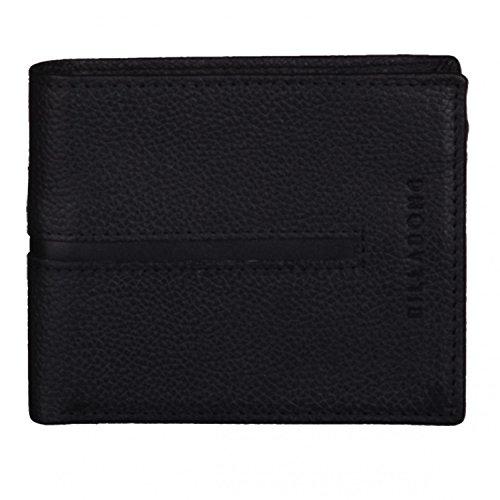 BILLABONG 2016 Empire Snap Leather Wallet Char Z5LW02