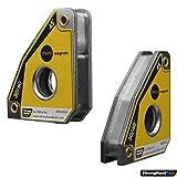 Strong Hand Tools MS346AT Lot de 2 mini carrés magnétiques