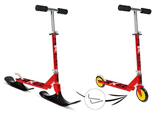 Stamp 2in1 Scooter - Roller und Schneescooter Schlitten in Einem