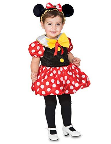 Disfraz de Ratoncita con topos para niña y bebé