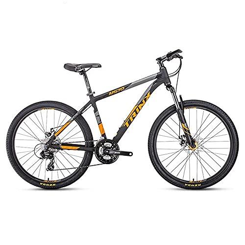 Mountain Bike per mountain bike, mountain bike, da uomo, da donna, da 26 pollici, con telaio in lega di alluminio, doppio freno a disco, mountain bike a 24 velocità, per donne e uomini