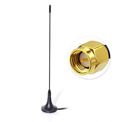Antenna SMB Mag Mount Rod Antenna autoradio con Cavo da 400 cm per Dab Blaupunkt TechniSat Pioneer Sony Kenwood Alpine Eightwood Antenna Dab