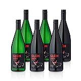 Feinste Weine GLÜHVIEH Glühwein Probierpaket Rot & Weiß - Weingut Metzger (6x 1L)