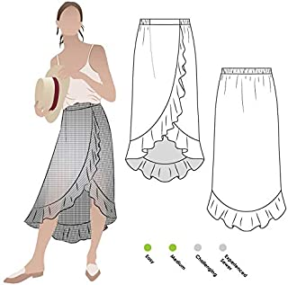 Style Arc Sewing Pattern - Ariel Wrap Skirt (Sizes 04-16) - Click for Other Sizes Available