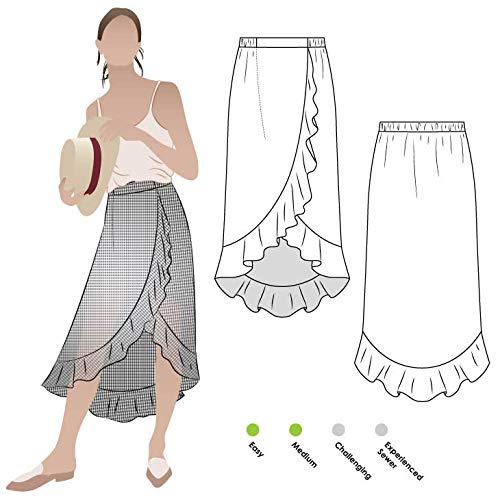 Style Arc naaipatroon - Ariel Wrap Rok Sizes 18-30