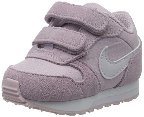 Nike MD Runner 2 PE (TDV), Scarpe da Ginnastica, Iced Lilac/Barely Grape, 21 EU
