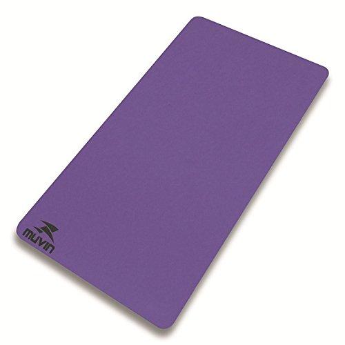 Colchonete Yoga Pilates Eva - 100cm x 50cm x 1cm - Muvin - Roxo - 1 cm