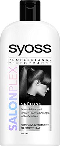 Syoss Spülung Salon Plex, 3er Pack (3 x 500 ml)