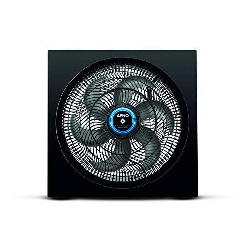 Circulador De Ar Turbo Silencio Maxx Repelente Líquido Arno Maxx Repelente Líquido Preto 110v