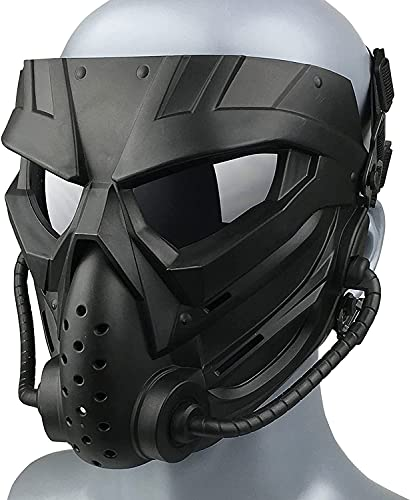 ifkoo Airsoft Mask Full Face Tactical Masks with Anti-Fog...