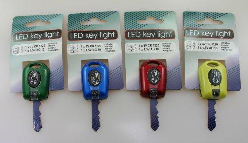 LED Schlüssellicht Handtaschenlicht 4er Set Im Dunkeln mit dem Schlüssel Licht Türschloß ausleuchten