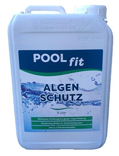 Poolfit Algenschutz - schaumarm - 3L