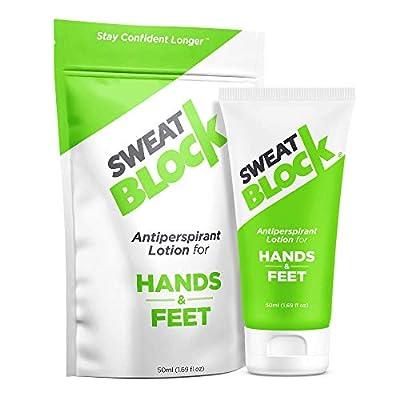SweatBlock Antiperspirant Lotion for