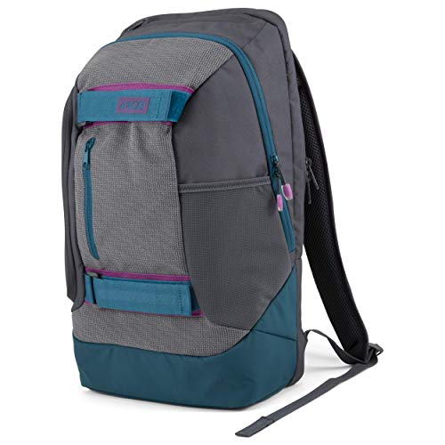 AEVOR Bookpack Echo - ergonomischer Rucksack, reflektierend, 26 Liter, Laptopfach, Skate Board Tragesystem - Purple