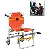 Dr.FITNESS Silla de Escalera Evacuación de Fuego de Ambulancia Silla de Escalera de Elevación Médica 350 LB de Capacidad