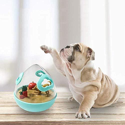 Verliezen bal rollende bal IQ Interactive hondenvoer huisdier speelgoed intelligent katten Treat voedsel Tumbler verzorgen van opleidingen puppy training