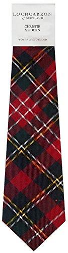I Luv Ltd Gents Neck Tie Christie Modern Tartan Lightweight Scottish Clan Tie