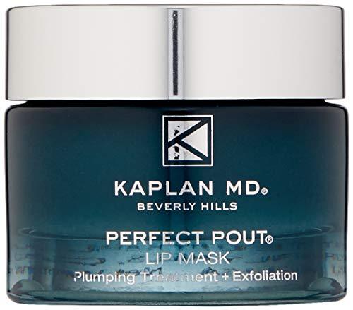 KAPLAN MD Perfect Pout Lip Mask Volumizing Treatment + Exfoliation, 1.0 oz