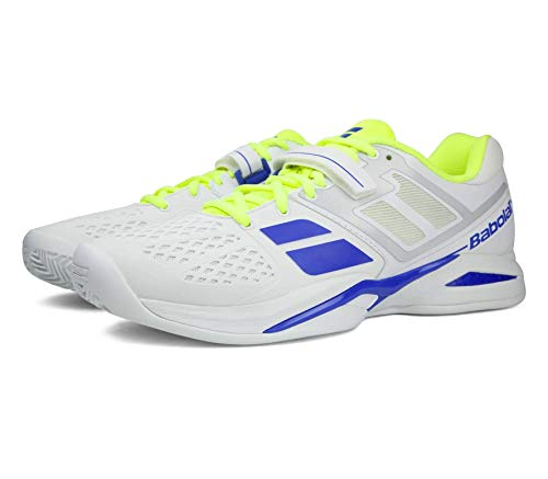CHAUSSURES BABOLAT PROPULSE CLAY BLANCHE BLEU