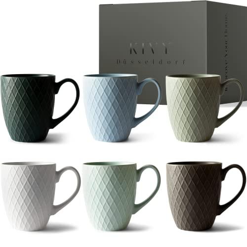 KIVY Kaffeetassen 6er Set 400 Bild