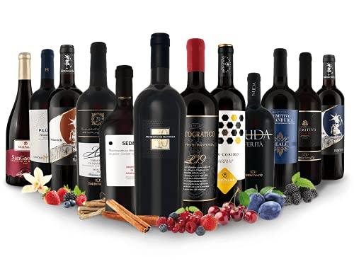 Primitivo - Entdeckerpaket   12 Rotweine aus Italien   (12x 0,75l)