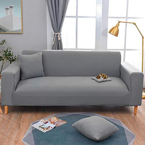 TKG Lanza Extensible Asientos Brazo setand universales del Asiento del sofá protección Antideslizante,Gris Yanshi,185-230cm