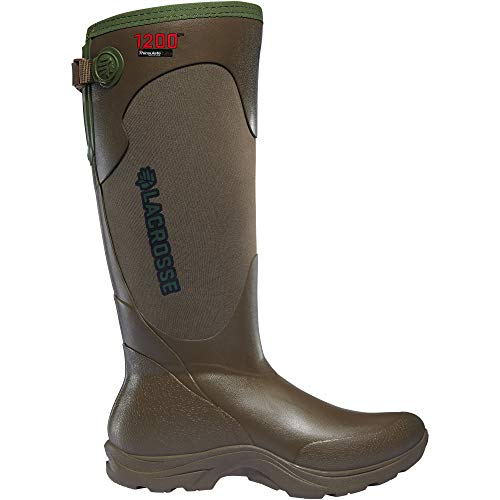 "LaCrosse Women's 302445 Alpha Agility 15"" Waterproof 1200G Hunting Boot, Brown - 10 D"