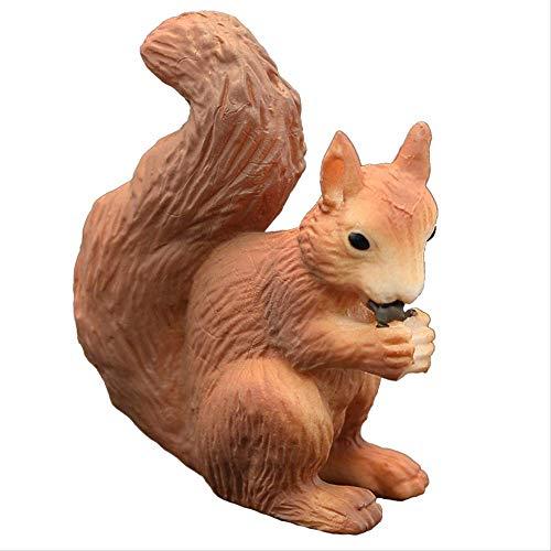 ZAAQ Modelo Animal de simulación sólida decoración de Animales Salvajes artesanía de decoración del hogar