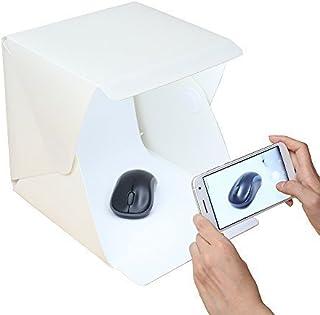 Gleading 24x23x22.6 cm Kit de Tienda Mini Cubo Estudio Foto Difusor Luz Suave Iluminación