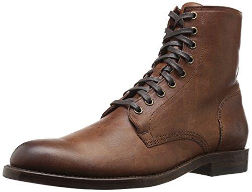 Frye Men's Will Lace Up Combat Boot, Copper, 8 D US