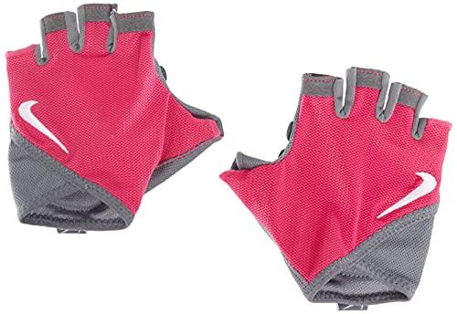 Nike 628 - Guanti da ginnastica da donna, taglia M, colore: Rosa russo/antracite/bianco