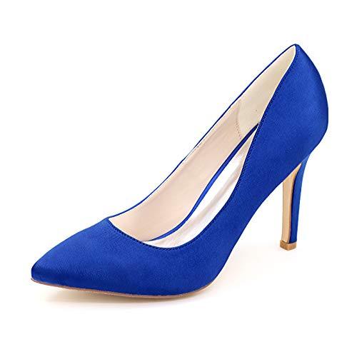 LGYKUMEG Mujer Zapatos de Tacón Zapatos Mujer Tacon Fiesta Sexy Clásico Stilettos High Heels Fiesta Boda para Mujer Tacones Altos 9.5cm,03,EU41