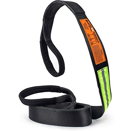 Bubba Rope Black OP 3' x 20' Tow Strap
