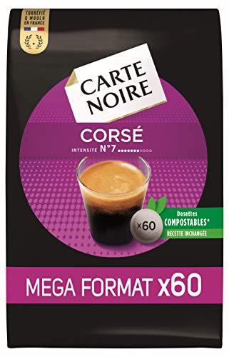 petit un compact Carte Noire, Capsules Espresso No.7-60 Capsules Senseo compatibles