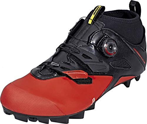 Mavic Crossmax Elite cm Cycling Shoe - Men's Black/Fiery Red/Black, US 11.5/UK 11.0