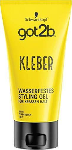 Schwarzkopf got2b Gel kleber wasserfestes Styling, 150 ml